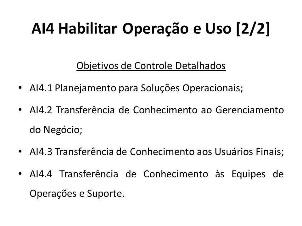 AI4 Habilitar Operação e Uso [2/2]